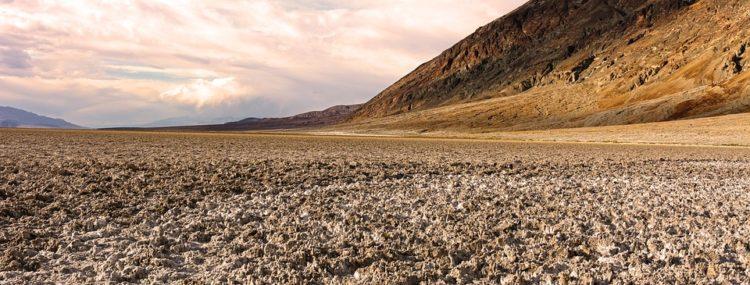 erosión en el valle de la muerte